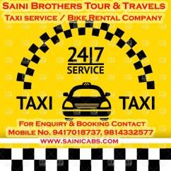 Taxi Service in Chandigarh Call-9417018737