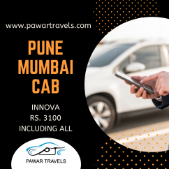 Toyota Innova For Pune to Mumbai Airport Drop Pawar Travels
