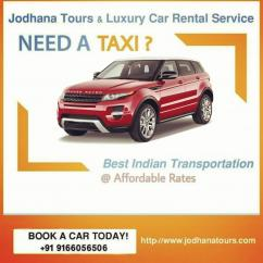 Car on rent in Jodhpur - Car hire services