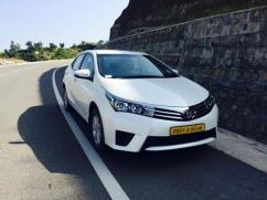 Toyota Corolla Altis hire in Amritsar