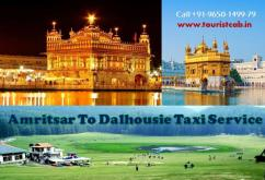 Get Best Amritsar to Dalhousie Taxi Fare at Touristcab
