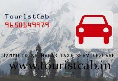 One Way Jammu To Srinagar Taxi Fare Jammu To Srinagar Distance 268Kms