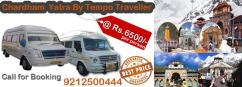 Char Dham Yatra Tour Packages Rs.6500 Per Person for 11 Nights 12 Days