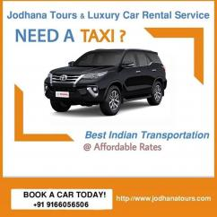 Taxi services in Jodhpur - Cab service