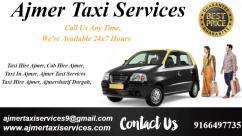 Cab in Ajmer , Taxi rates in Ajmer , Ajmer Local Taxi Service