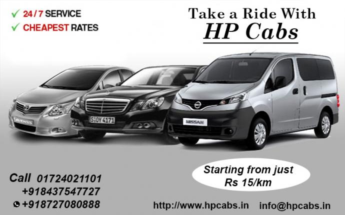 Himachal pradesh provides Car rental services with inexpensive cos