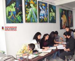 coaching classes at punjabi bagh by raghuvansham school of modern art