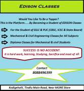 Classes for SSLC, PUC & Engineering
