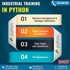Best 6 Weeks Python Training Institute in Noida
