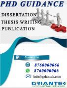 Phd Guidance Phd thesis
