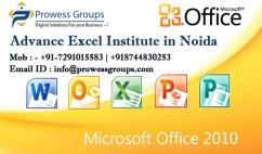 Join our Advanced Excel Course Noida & Delhi NCR ProwessGroups