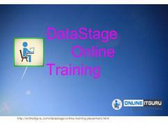 DataStage Online Training Free Demo