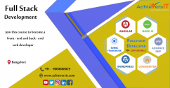 Best Training Institute For Fullstock Development In Bangalore
