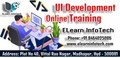 UI Development Online Training In Hyderabad - ELearn InfoTech