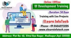 UI Development Course Online Training In Hyderabad with Projects