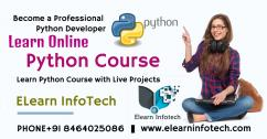 Learn Python Course Online In Hyderabad with Projects