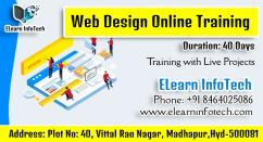 Web Designing Online Course In Hyderabad with Projects