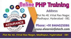 PHP Online Training in Hyderabad, India with Projects