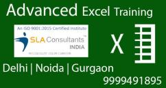 Excel Certification Course in Vaishali Ghaziabad SLA Consultants