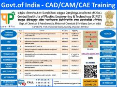 CAD TRAINING by GOVERNMENT OF INDIA