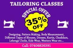 Ladies Tailoring Classes