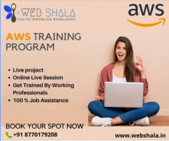 aws training and certification course by webshala