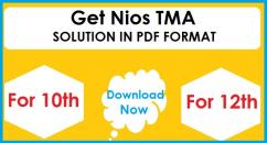 nios solved tma assignment for 10th & 12th class