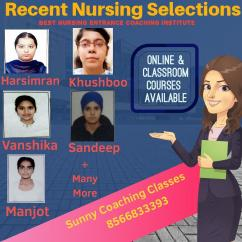 Best BSc Nursing Entrance Coaching Institute