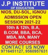 Nios admission open 2021-22 10th and 12th in sarita vihar