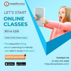 Learn Online By Best Teaching Experts For Class KG-12