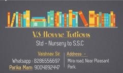 V.S home Coaching classes