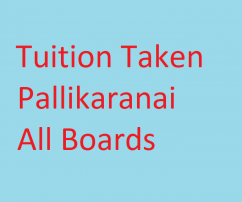 Tuitions Taken pallikaranai all classes all subjects also bcom subjects hindi