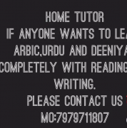 Arabic urdu tutor in batla house delhi