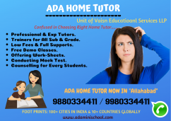 Best Home Tuition in Allahabad