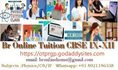 Br Online Home Tuition CBSE IXXII