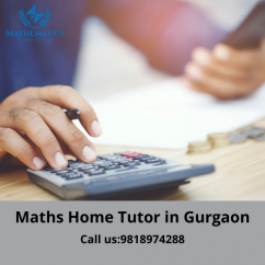 Maths Home Tutor in Gurgaon