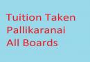Tuitions Taken Pallikaranai All Classes All Subjects Also Bcom Subjects Hindi