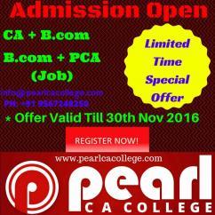 admission open ca,cpt