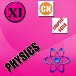 CBSE Board 11 Physics Chapter Notes