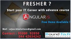 Angular js Training in  Chennai  -  Angular js  Training