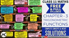Trigonometric Functions Class 11 Maths, Ashish Kumar Lets Learn