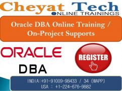the best oracle dba online training - cheyat tech