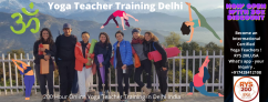 21 Days 200 Hour Online Yoga Teacher Training Delhi