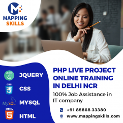 Php live project online training in delhi ncr