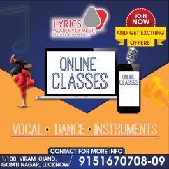 Online Music &  Dance  Classes