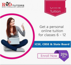 Get A Personal Online Tuition For Class 6 - 12