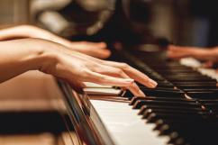 Western keyboard piano and guitar music teacher