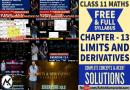 Limits And Derivatives Class 11 Maths - Ashish Kumar Lets Learn