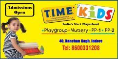 T.I.M.E. Kids Preschool, Kanchan Bagh, Indore