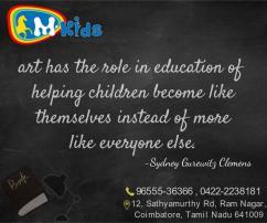 Best preschool in Coimbatore, mkids preschool, best Montessori school